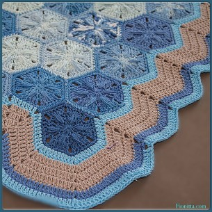My crochet Hexagons