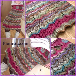 Crochet Noro Skirt