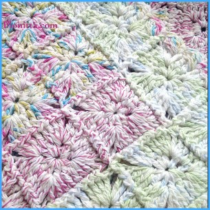 Crochet 'Lillipop' rug