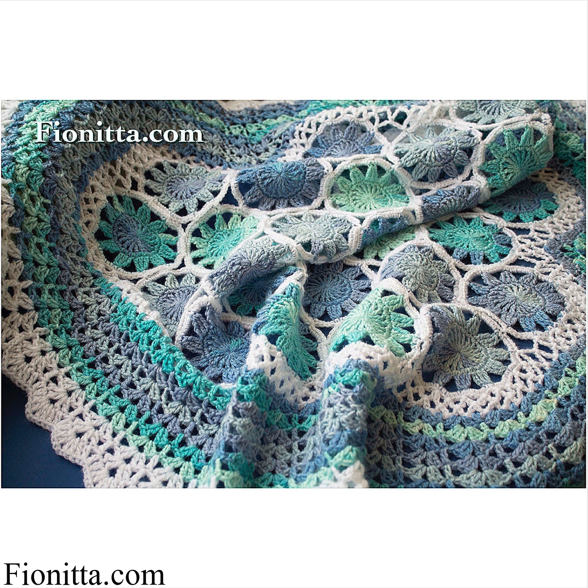 Marine Blue Blanket