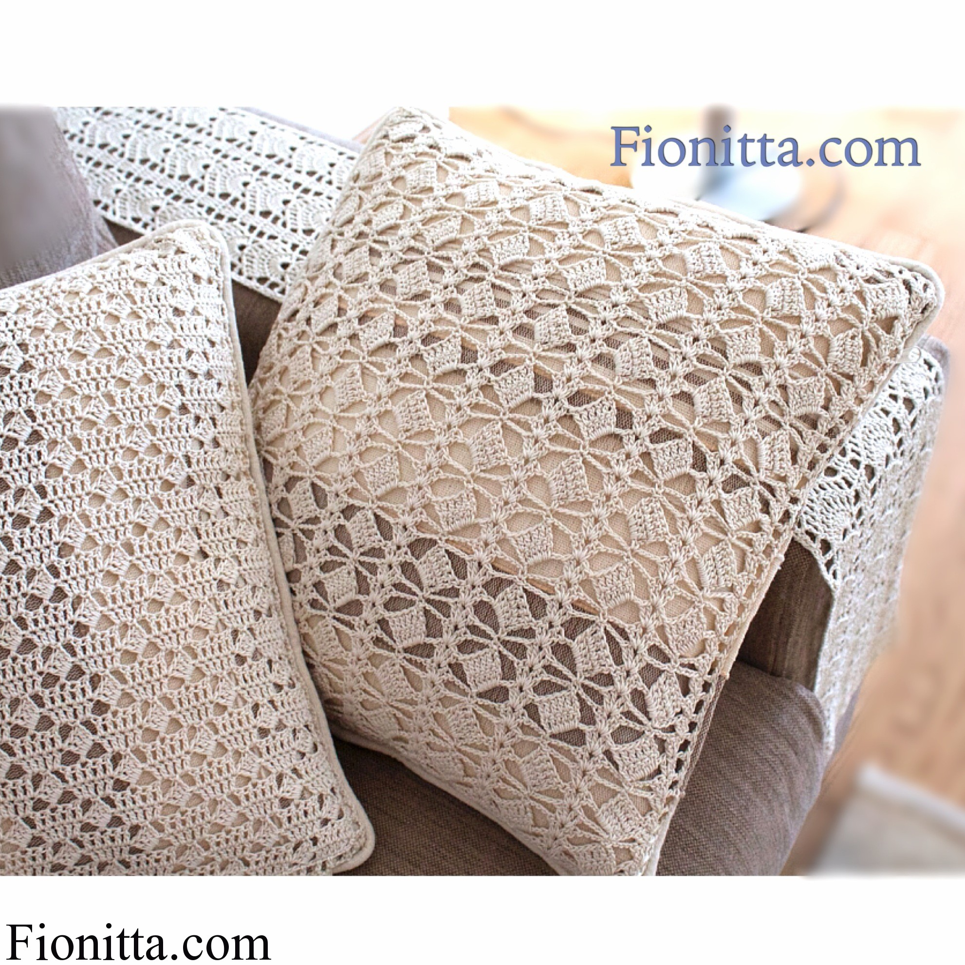 Crochet home decor