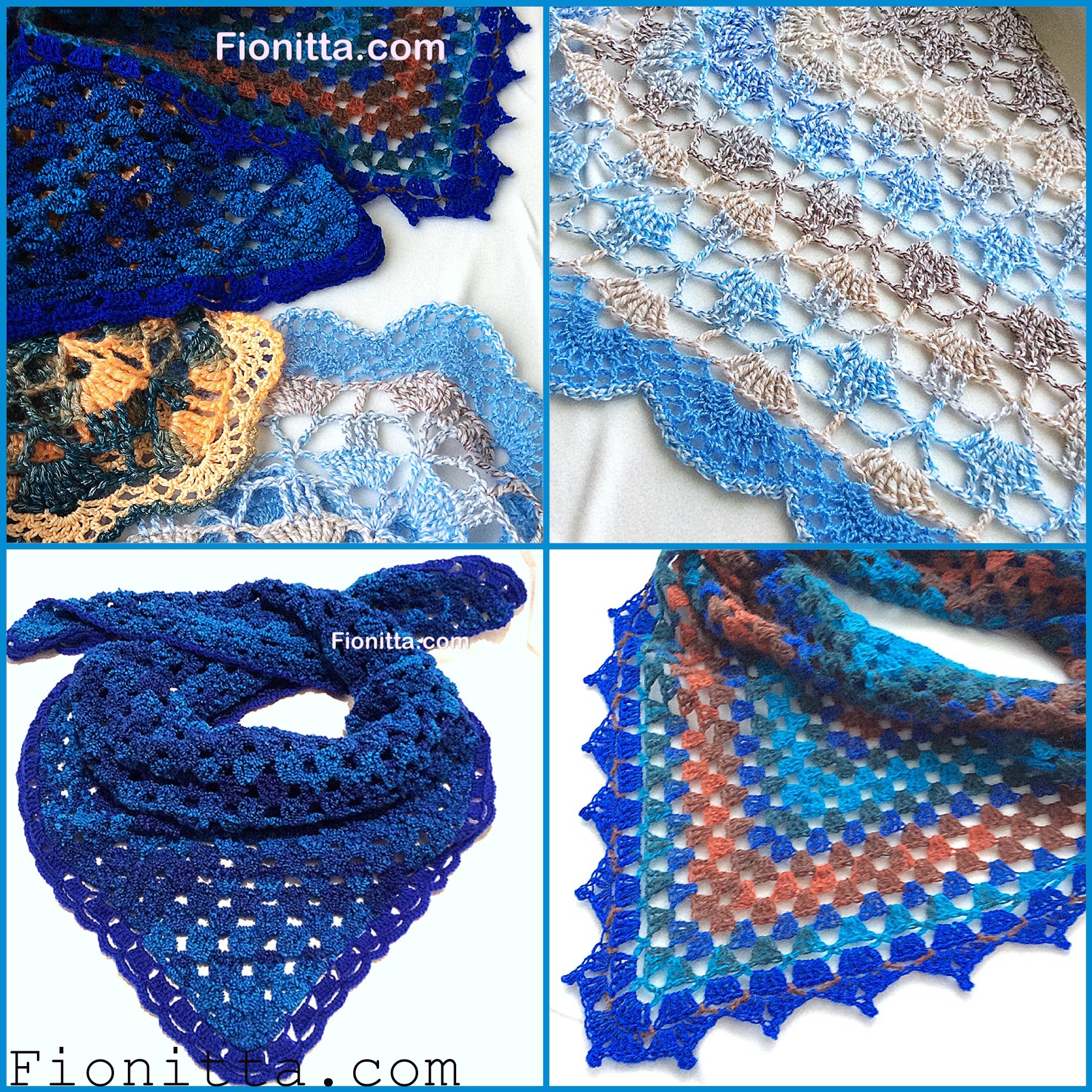 Set of mini shawls fionitta crochet img1534 img1543 there are simple crochet shawl patterns for beginners bankloansurffo Choice Image