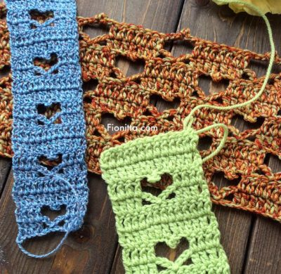 Crochet hearts, my ideas…