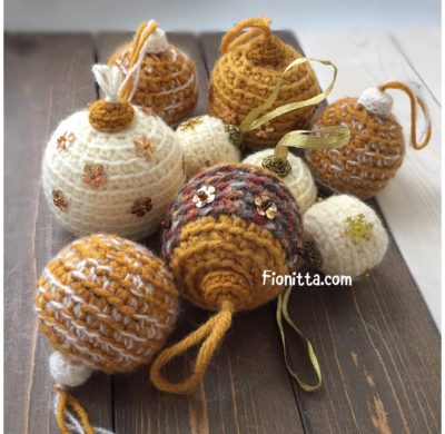 How to make Christmas baubles (second part)