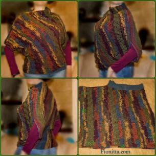 Crochet sleeveless sweater