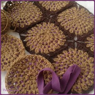 Granny Squares Crochet Rug