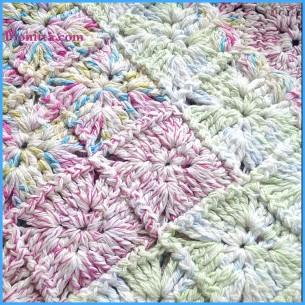 Crochet 'Lillipop' rug
