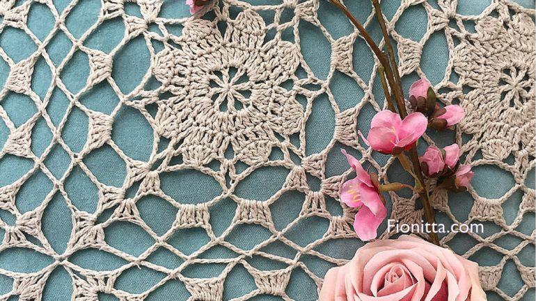 Crochet Clara Motif by Fionitta